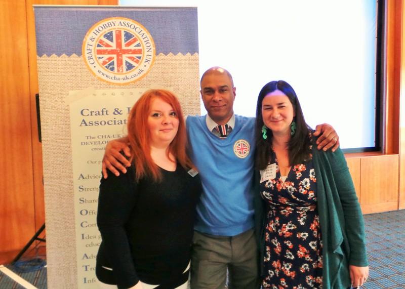 Meeting Sarah Hurley and CHA Craig at CHA UK Creative Exchanges