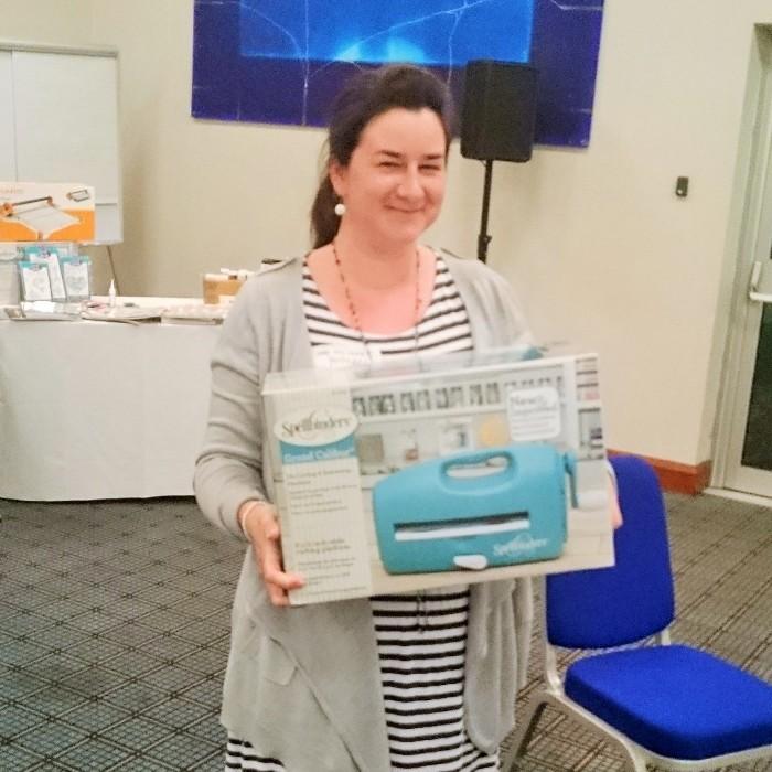 Winning a Grand Calibur at CHA UK Creative Exchanges