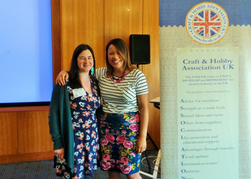 Meeting Zoe Arch - Pinterest Ambassador at CHA UK Creative Exchanges