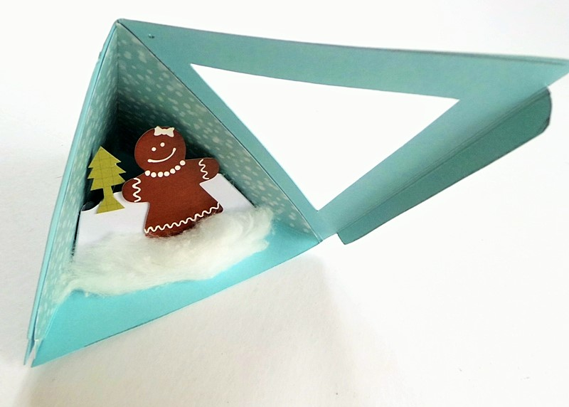 A Winter Scene Triangle Ornament (With Template) at Jennifer Grace Creates