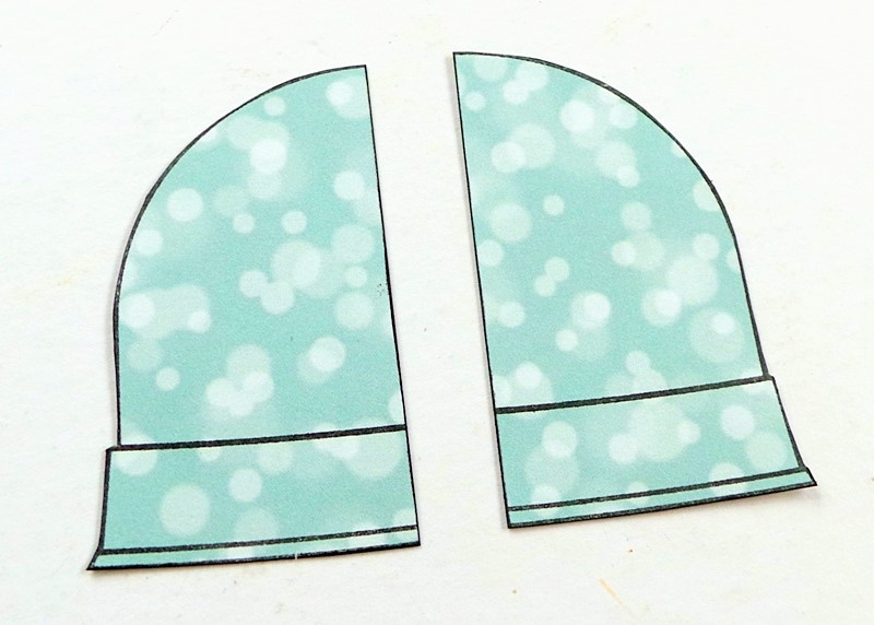 WINTER WOOLIES BUTTONS Mittens Hat Sewing Card Making Stamping Scrapbooking