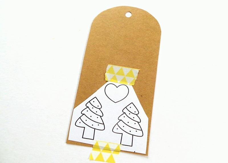 Embroidered Christmas Tags at Jennifer Grace Creates