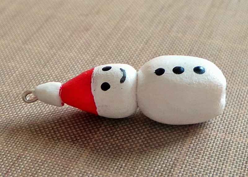 Festive Snowman Earrings Tutorial at Jennifer Grace Creates