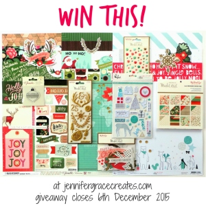 Frosty Festivities 2015 Grand Giveaway at Jennifer Grace Creates