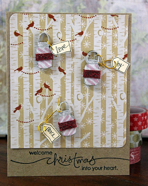 Mason Jar card by Lizzy Hill