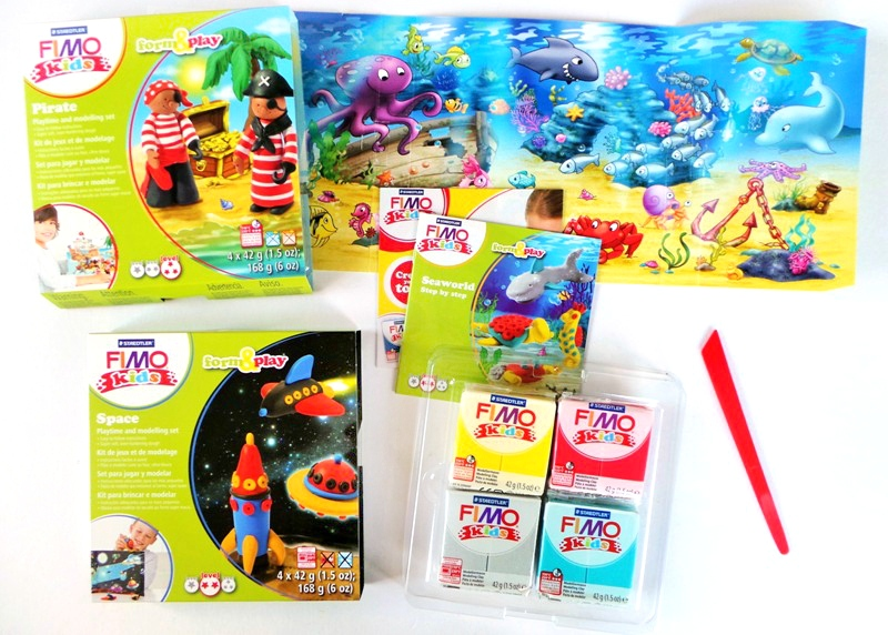 Sea Creature & Spaceship Toys With Fimo Form & Play Sets at Jennifer Grace Creates
