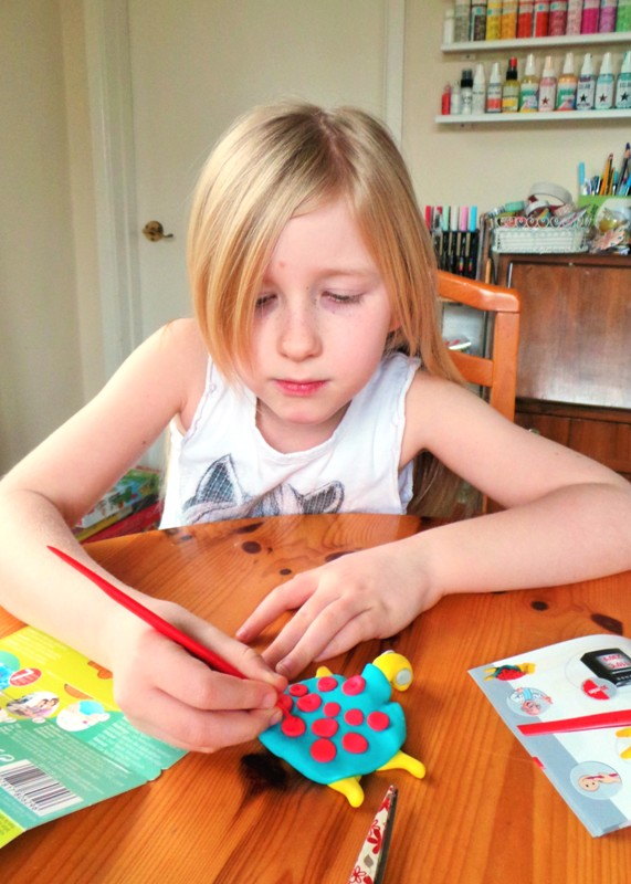 Sea Creature & Spaceship Toys Using Fimo Form & Play at Jennifer Grace Creates