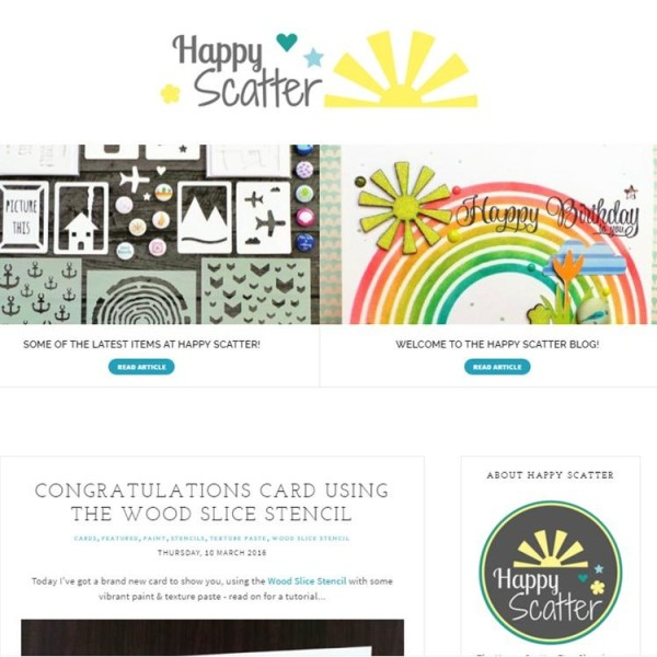 Happy Scatter Blog
