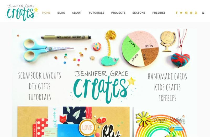 Jennifer Grace Creates New Blog Look