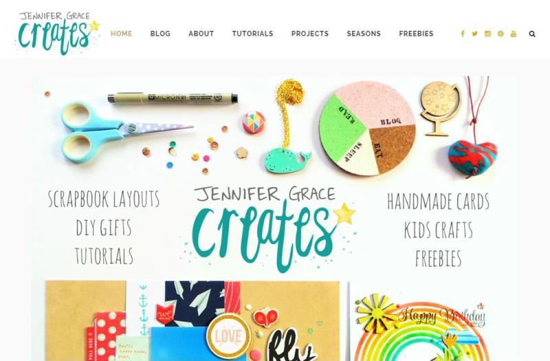 Jennifer Grace Creates New Blog Look