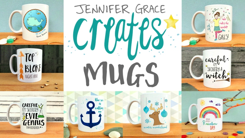Jennifer Grace Creates Mugs Kickstarter Campaign