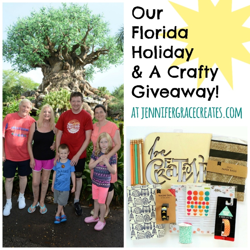 Our Florida Holiday & A Crafty Giveaway!