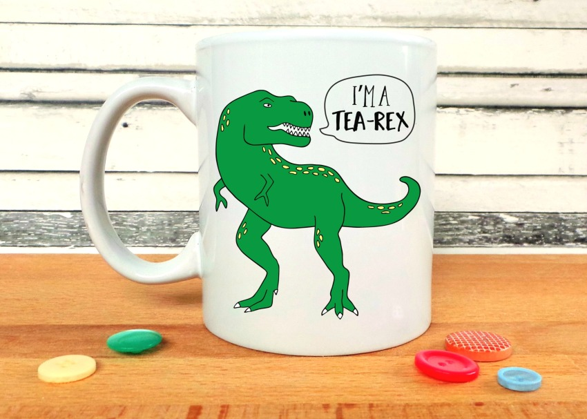 I'm A Tea Rex Mug - Jennifer Grace Creates